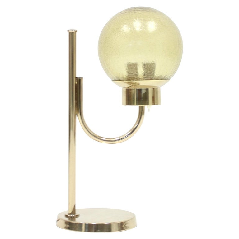 Brass Table Lamp by Bergboms, Model B-090, 1970s For Sale