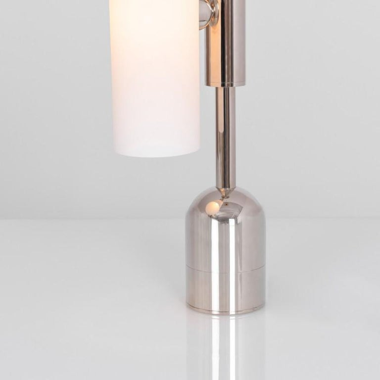 Brass Table Lamp by Schwung In New Condition For Sale In Geneve, CH