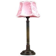 Brass Table Lamp, circa 1910