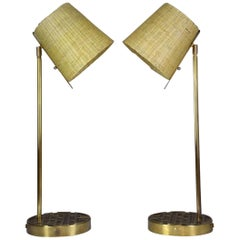Brass Table Lamp, Confinement Collection by JAS