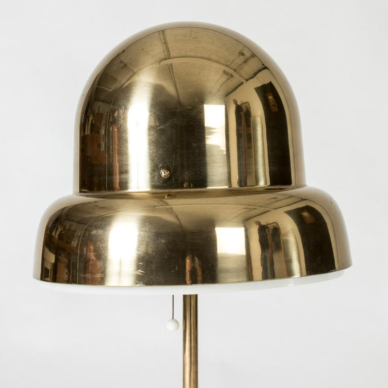 Swedish Brass Table Lamp from Bergboms, Sweden, 1960s For Sale