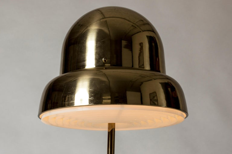 Brass Table Lamp from Bergboms, Sweden, 1960s In Good Condition For Sale In Stockholm, SE