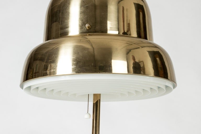 Brass Table Lamp from Bergboms, Sweden, 1960s For Sale 1