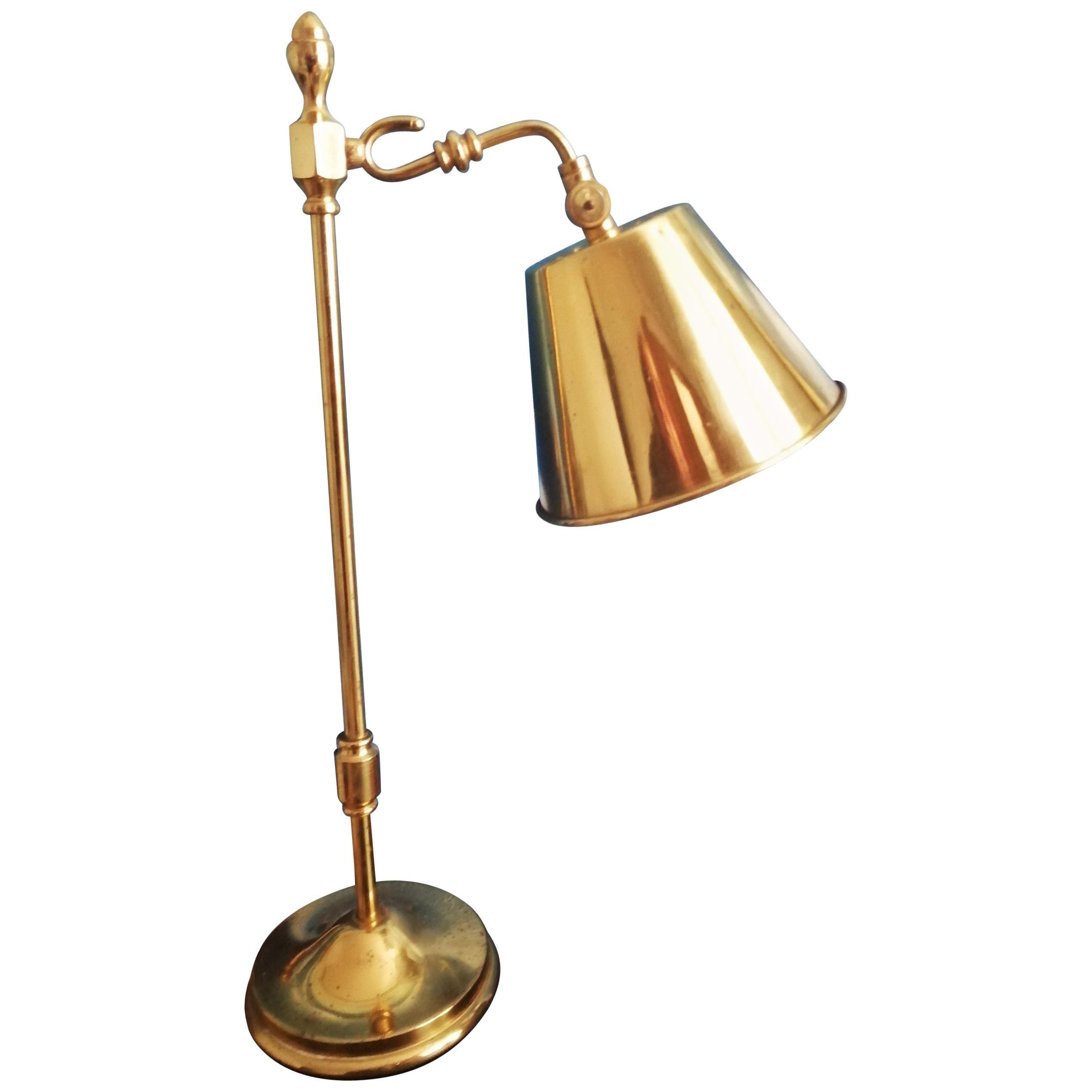 Brass  Desk Lamp , Art Deco