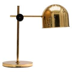 Brass Table / Reading Lamp by Tyringe Konsthantverk, Sweden, 1960s