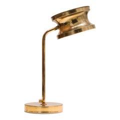 Brass Table / Reading Lamp by Tyringe Konsthantverk, Sweden 1960s