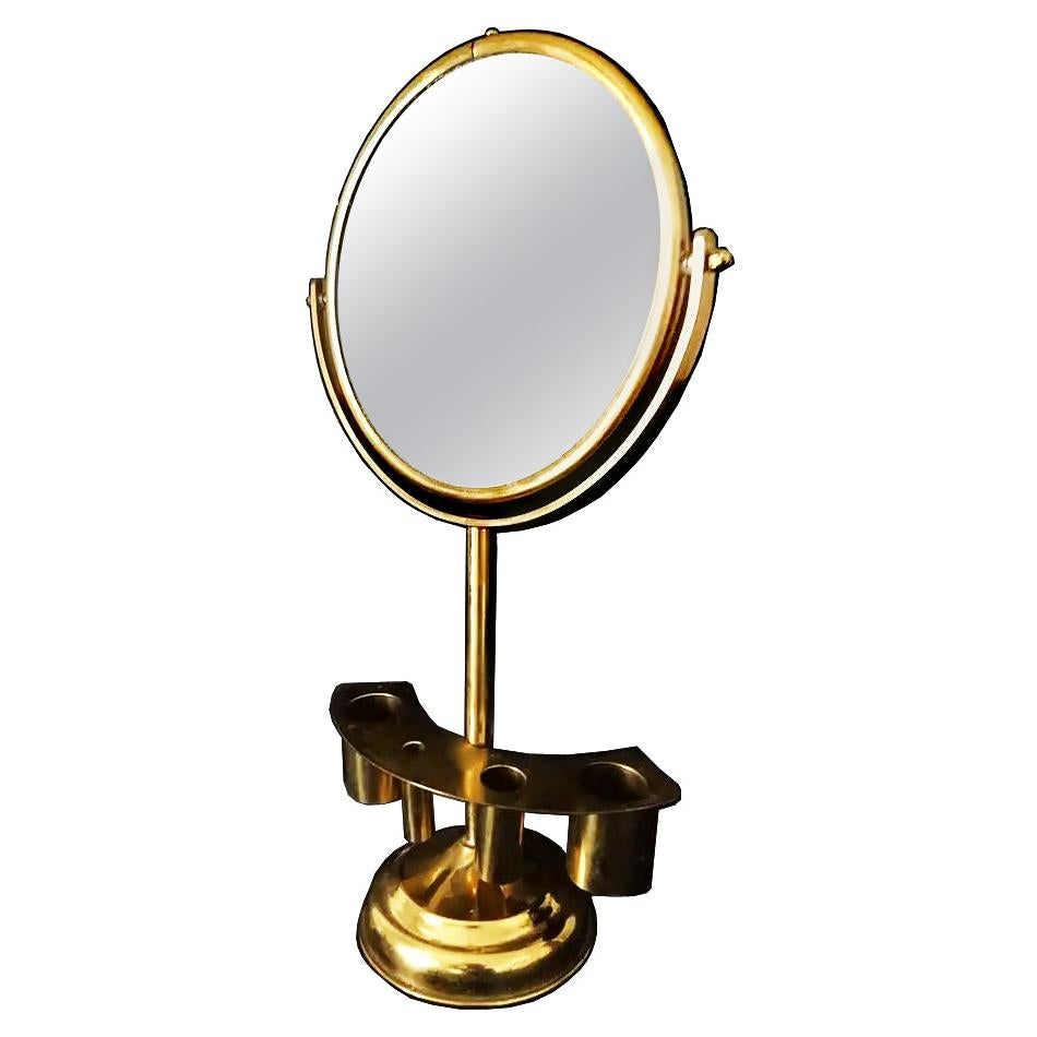 Brass Table Vanity Mirror