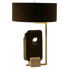 "Brass ""Tre Piastre"" Table Lamp"