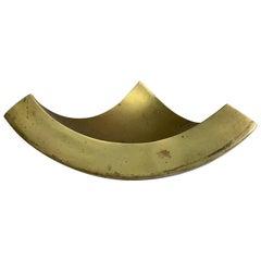 Brass Vide Poche Coconut Shape