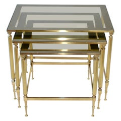 Brass Vintage Nest of Tables