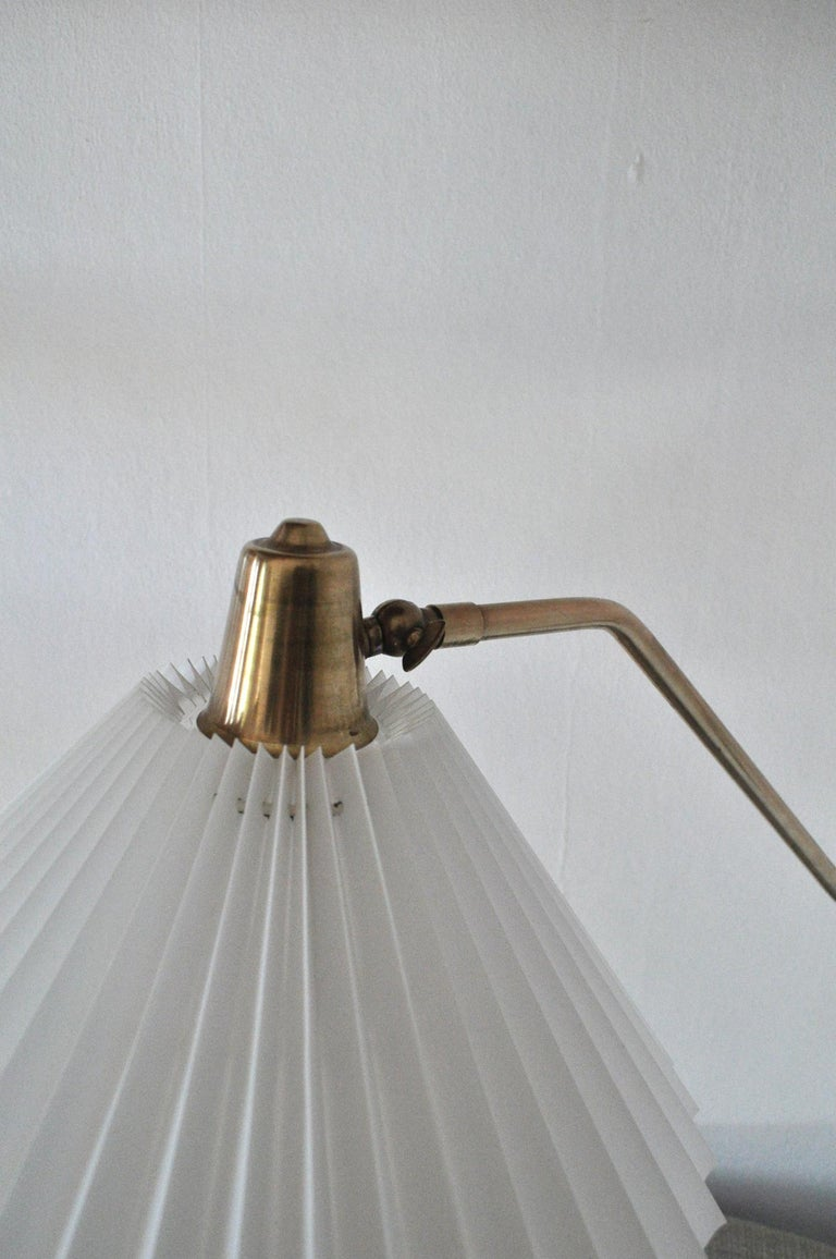Brass Wall Lamp by Norwegian Astra in the 1950s For Sale 5