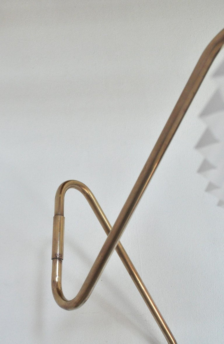 Brass Wall Lamp by Norwegian Astra in the 1950s For Sale 7