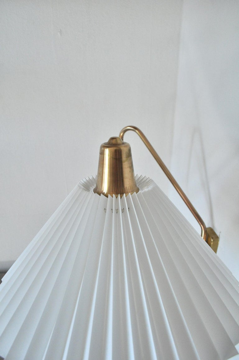Brass Wall Lamp by Norwegian Astra in the 1950s For Sale 4