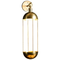Brass Wall Light French Design and Art Deco Style