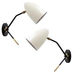 Brass Wall Lights 'L3GG'