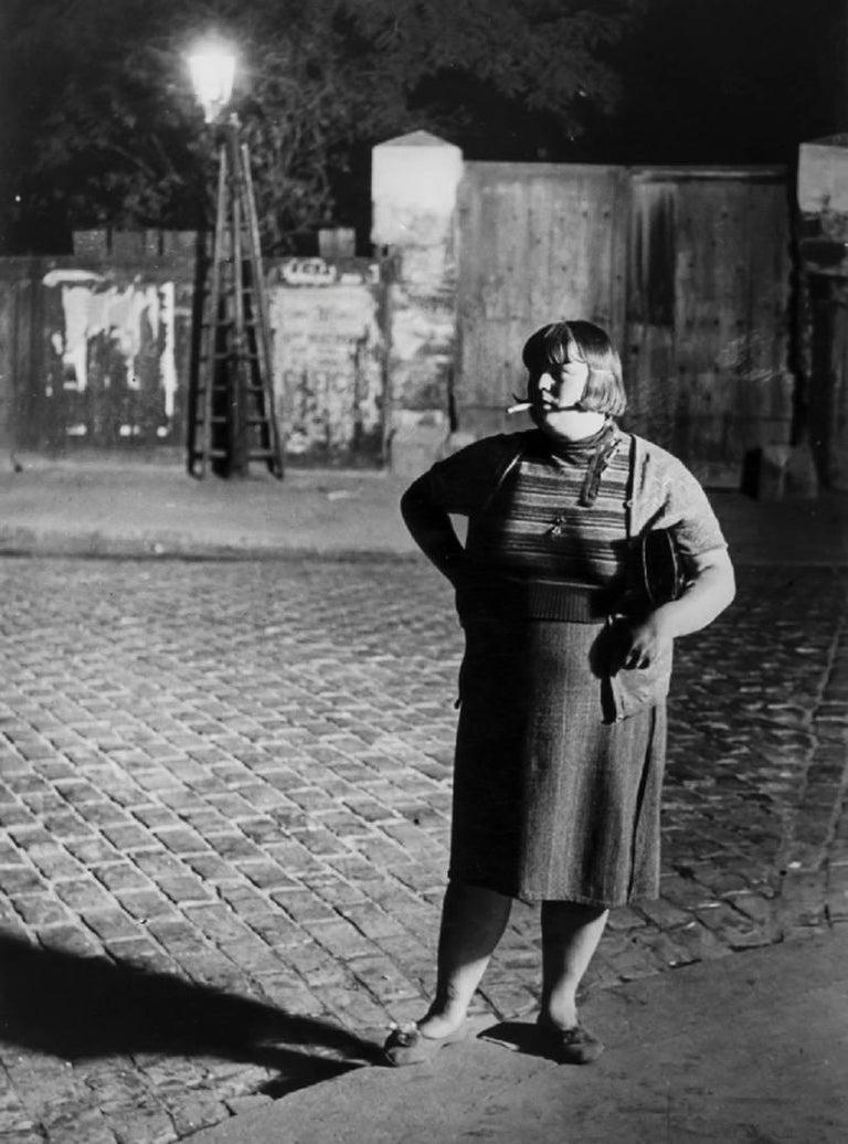 Brassaï Black and White Photograph - Fille de Joie, Quartier d'Italie