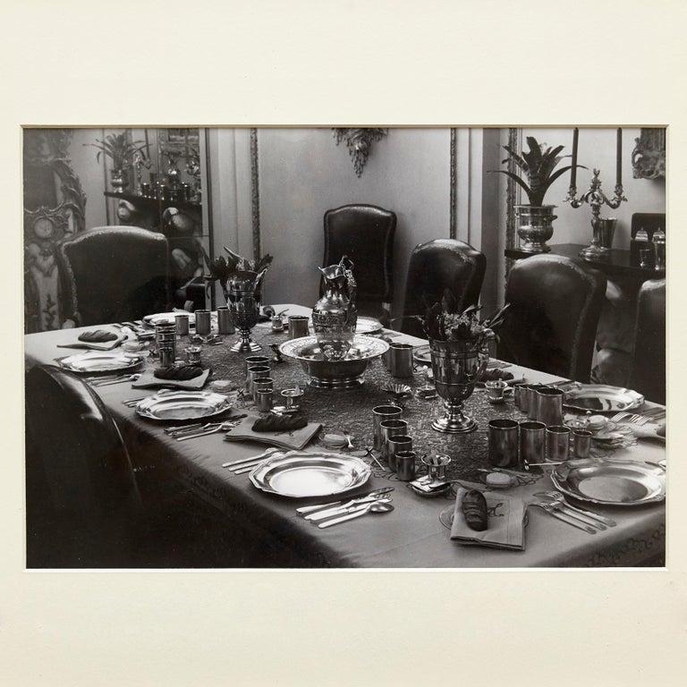 Photography made by Brassai in 1935 in Paris.  Gelatine silver bromide.  Stamped by Brassai.