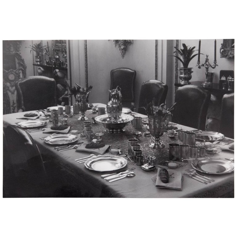 Mid-20th Century Brassai Black and White Photography of an Interior, circa 1936 For Sale