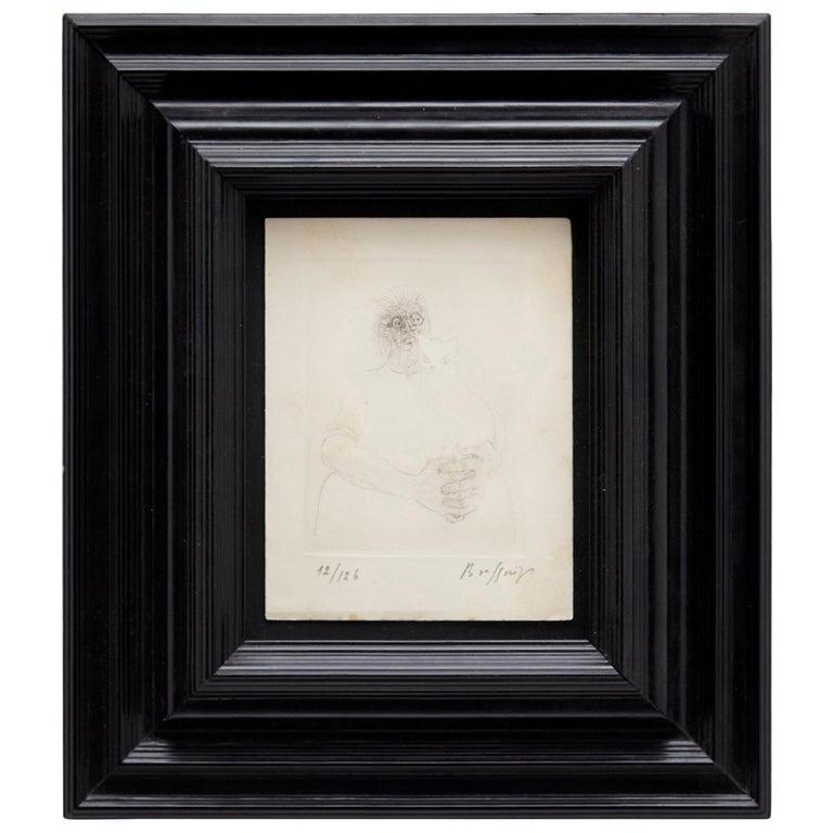 Brassaï Lithography Hand Signed For Sale