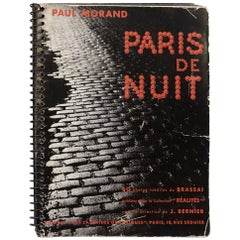 "Brassaï ""Paris de Nuit"" 1933 Book"