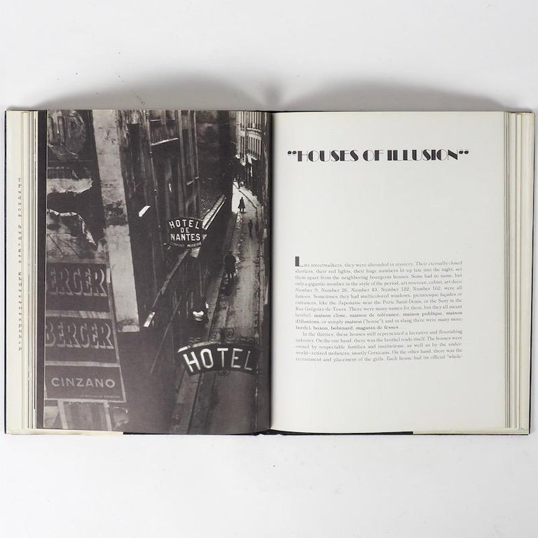 Brassai. The Secret Paris of the 1930s. Published by Pantheon, New York, 1976. First American edition.