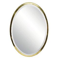 Brasscrafters Oval Mirror