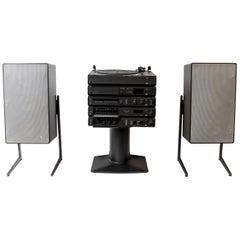Braun Atelier Hifi and Speakers System, Dieter Rams, 1980