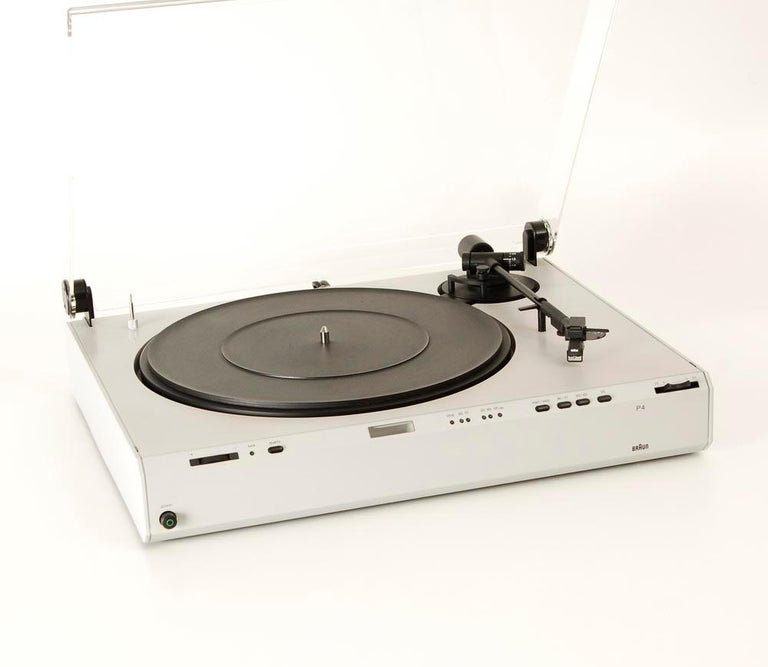 Braun P3 Record Player Designed by Dieter Rams, 1980s 2