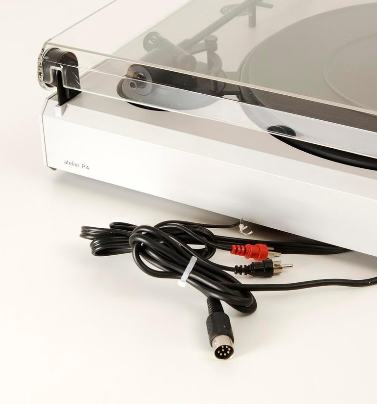 Braun P3 Record Player Designed by Dieter Rams, 1980s 5