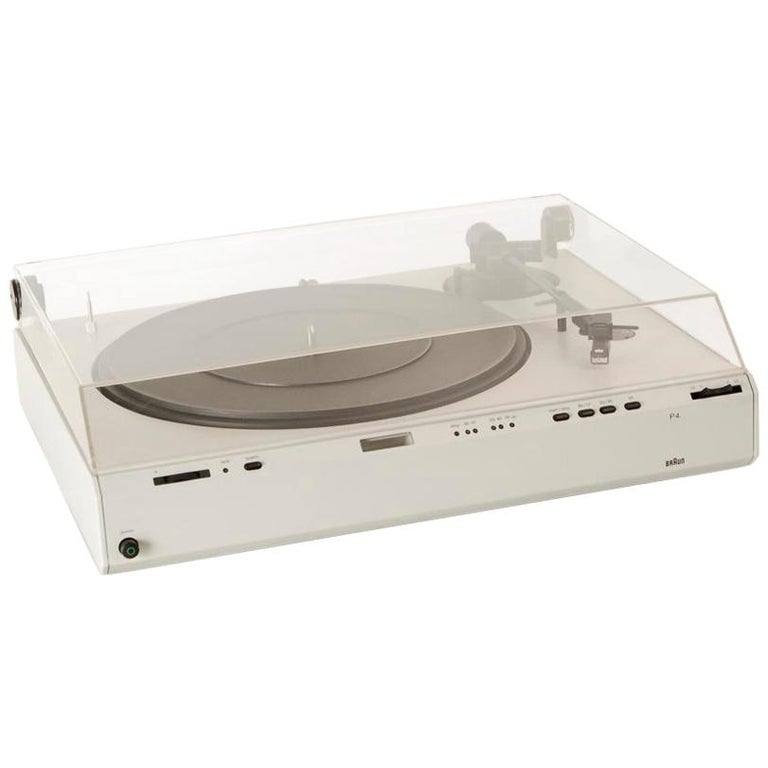 Braun P3 Record Player Designed by Dieter Rams, 1980s 1