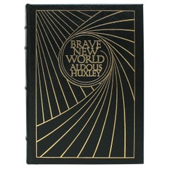 """""""Brave New World"""" by Aldous Huxley, Easton Press Collector's First Edition, 1978"""