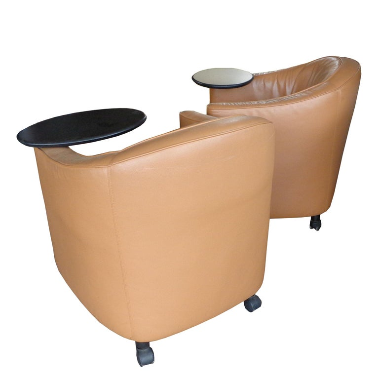 Modern Brayton Reception or Residential Lounge Chairs For Sale