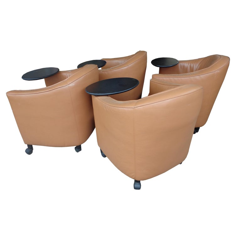 Brayton Reception or Residential Lounge Chairs In Good Condition For Sale In Pasadena, TX