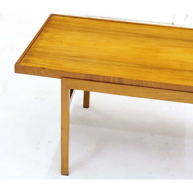 Mid-Century Modern Brazilian 1950's  Midcentury Coffee Table in Caviúna Wood by Peter Kraft For Sale