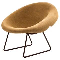 Brazilian 'Casca' Chair Designed by Domingos Tótora