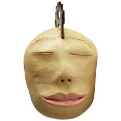 Brazilian Ceramic Sculpture Head