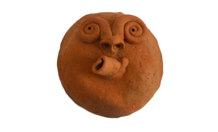 Hand-Crafted Brazilian Ceramic Sculptures Zezinhos For Sale