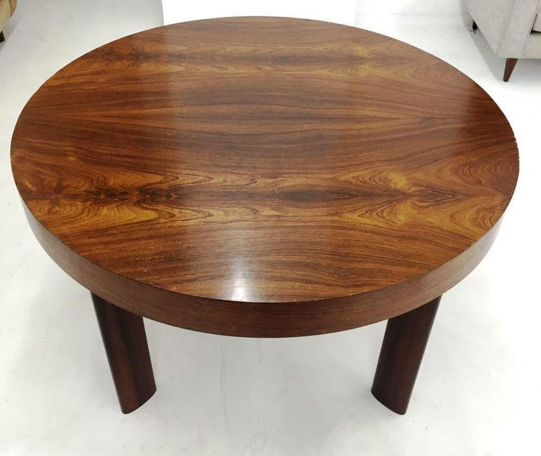 Woodwork Brazilian Dinner Table in Rosewood For Sale