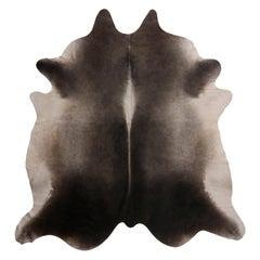 Brazilian Grey and Tan Cowhide Rug