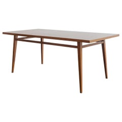 Brazilian Hardwood Table by Joaquim Tenreiro, 1947, Midcentury Design