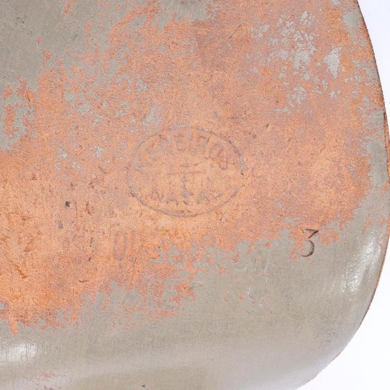 Brazilian Leather 1940s Novelty Peep Toe Platform Heels Piano Key Vintage Shoes For Sale 10