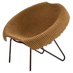 Brazilian 'Leiras' Chair Designed by Domingos Tótora