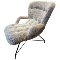 Brazilian Lounge Chair by Martin Eisler & Carlo Hauner for Forma