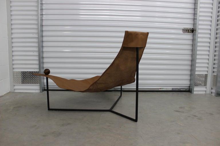 Mid-20th Century Brazilian Mid-Century Modern Arraia Chair by Jorge Zalszupin Brown For Sale