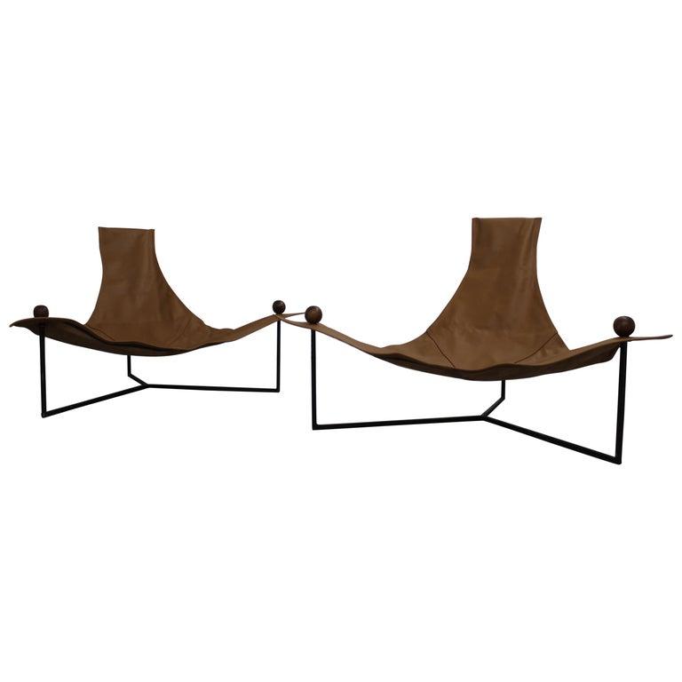 Brazilian Mid-Century Modern Arraia Chair by Jorge Zalszupin Brown For Sale