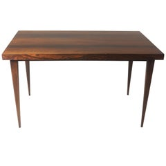 Brazilian Mid-Century Modern Hardwood Desk Table, Brazil, 1960s
