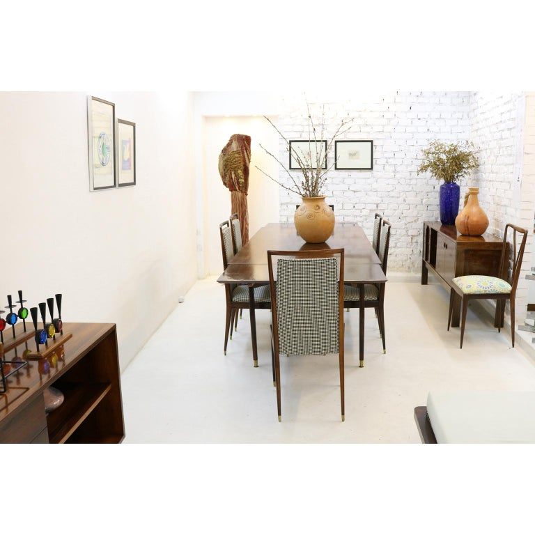 Mid-Century Modern Brazilian Midcentury Jacaranda Dining Chair For Sale