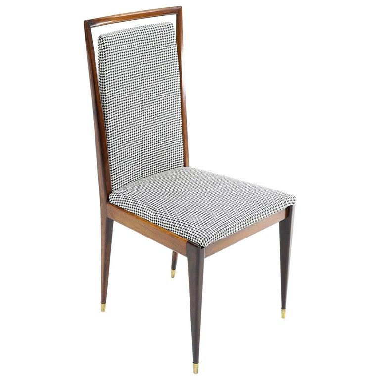 Brazilian Midcentury Jacaranda Dining Chair For Sale
