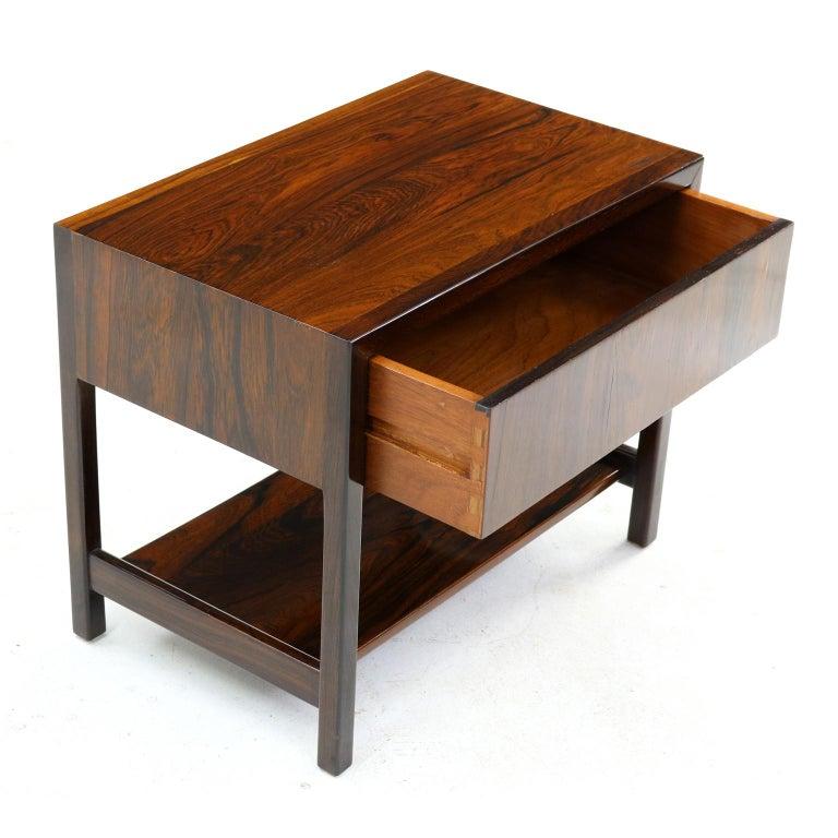 Design: Ricardo Arrastia Manufacturer: Arredamento Móveis Jacaranda nightstand – Brazil, 1960s.