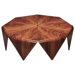 Brazilian Midcentury Petalas Coffee Table Done in a Style of Jorge Zalszupin